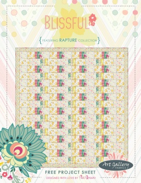 Blissful Quilt by Pat Bravo