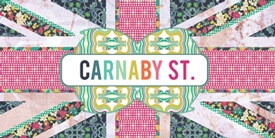 Carnaby St. Fabric Collection by Pat Bravo