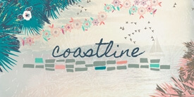 Coastline Fabric Collection by Sharon Holland