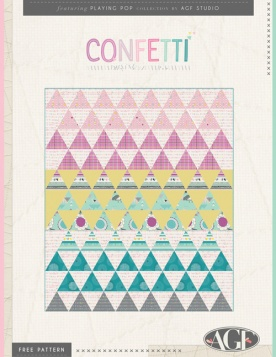 Confetti Quilt by AGF Studio