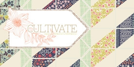 Cultivate Fabric Collection by Bonnie Christine