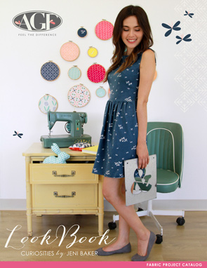 Curiosities by Jeni Baker Fabric Lookbook with Projects
