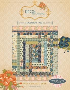 Deco Dreams Quilt by Bari J.