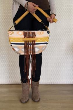 Desert Fringe Bag by AGF Studio