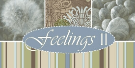 Feelings II Fabric Collection by Pat Bravo