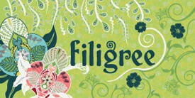 Filigree Fabric Collection by Pat Bravo