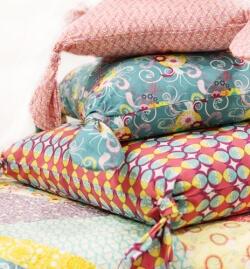 Flirty Pillow by Pat Bravo