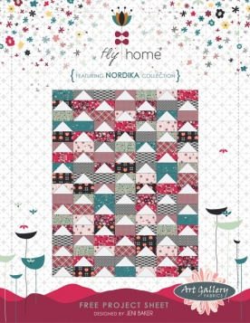 Fly Home Quilt by Jeni Baker