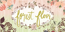 Forest Floor Fabric Collection by Bonnie Christine