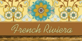 French Riviera Fabric Collection by Pat Bravo