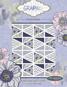 Graphite Quilt by Sarah Watson