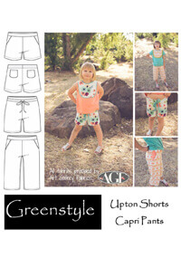 Upton Shorts & Capri Pants By Greenstyle Creations