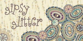 Gipsy Glitter Fabric Collection by Pat Bravo