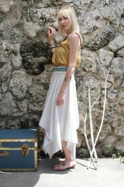 Handkerchief Skirt by AGF Studio