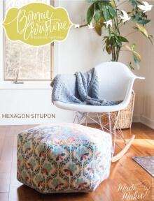 Hexagon Situpon By Bonnie Christine