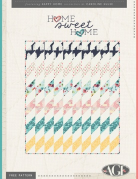 Home Sweet Home Quilt by Caroline Hulse