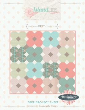 Island Leis Quilt by Angela Walters