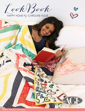 Happy Home Fabric Lookbook with Projects