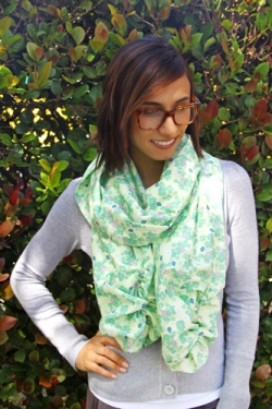 Love Notes Scarf by Pat Bravo