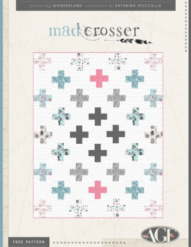 Mad Crosser Quilt by Katarina Roccella