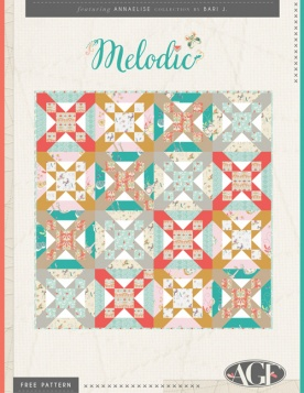 Melodic Quilt by Bari J.