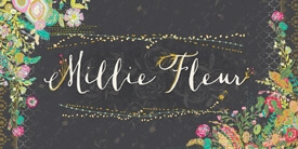 Millie Fleur Fabric Collection by Bari J.
