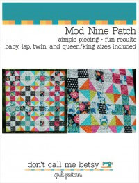 Mod Nine Patch By Don't Call Me Betsy
