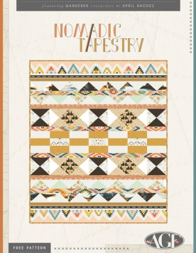 Nomadic Tapestry Quilt by April Rhodes