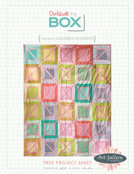 Outside the Box Quilt by AGF Studio