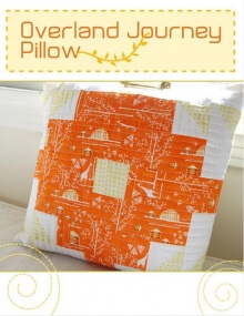 Overland Journey Pillow By Frances Newcombe