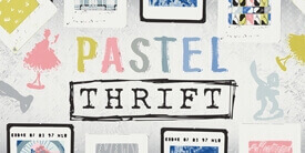 Pastel Thrift Fabric Collection
