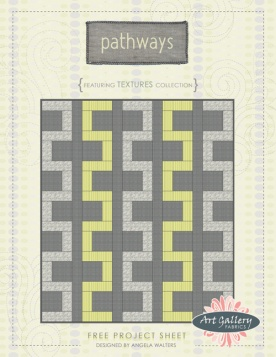 Pathway Quilt by Angela Walters