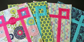 Unquilted Embellished Placemats
