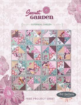 Secret Garden Quilt by Pat Bravo