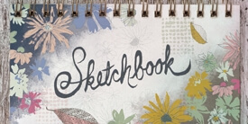 Sketchbook Fabric Collection by Sharon Holland