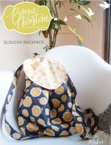 Slouchy Backpack By Bonnie Christine