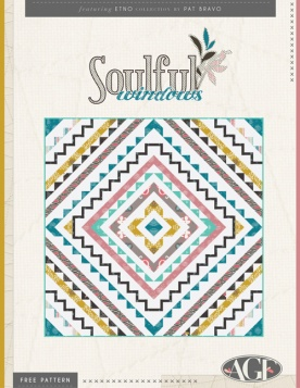 Soulful Windows Quilt by Pat Bravo