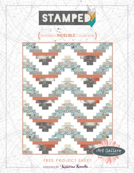 Stamped Quilt by Katarina Roccella