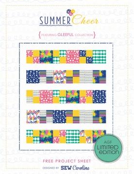 Summer Cheer Quilt by Sew Caroline