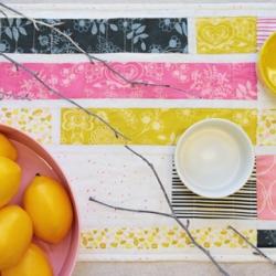 Sweet Peels Table Runner by AGF Studio
