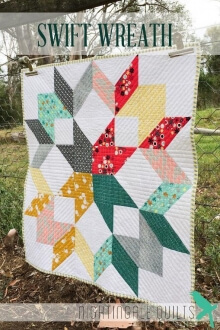 Swift Wreath By Nightingale Quilts
