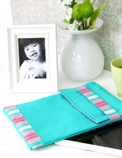 Tablet Coverlet by Pat Bravo