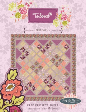 Tailored Quilt by Pat Bravo