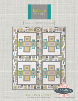 Textured Frames Quilt by Angela Walters