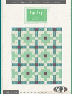 Tip Top Garden Quilt by AGF Studio
