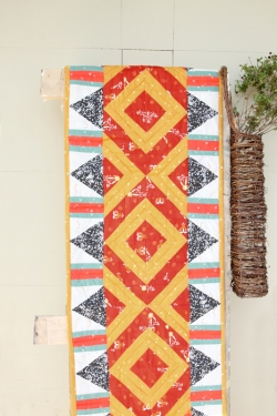 Trail and Travels Table Runner by AGF Studio