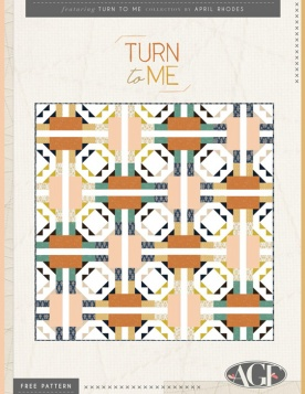 Turn to Me Quilt by April Rhodes