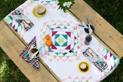 Tracery Table Runner by AGF Studio
