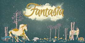 Fantasia Fabric Collection by Sara Lawson