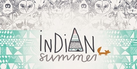 Indian Summer Fabric Collection by Sarah Watson